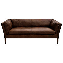 Buy Halo Groucho Medium Leather Sofa Online at johnlewis.com