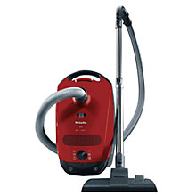 Buy Miele S2111 Compact Cylinder Vacuum Cleaner, Red Online at johnlewis.com