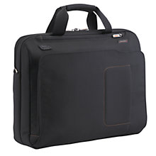 Buy Briggs & Riley Max Slim Briefcase, Black Online at johnlewis.com