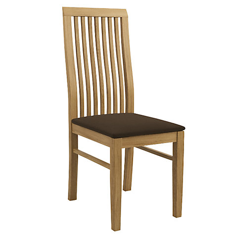Buy John Lewis Henry Chair Fabric Seat Online at johnlewis.com