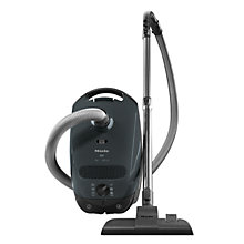 Buy Miele S2111 Compact Cylinder Cleaner, Grey Online at johnlewis.com