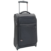 Buy Antler New Size Zero 2-Wheel Suitcase, Black, Cabin Online at johnlewis.com