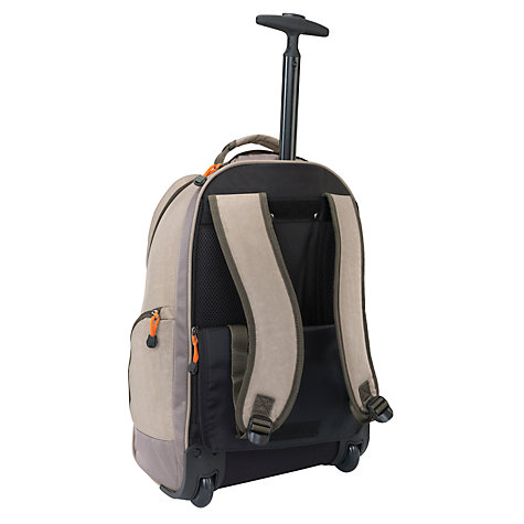 Buy Antler New Urbanite II Trolley Backpack, Stone Online at johnlewis.com