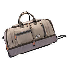 Buy Antler New Urbanite II Mega Double Decker Trolley Bag, Stone Online at johnlewis.com