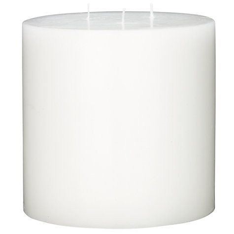 Buy Citronella 3 Wick Candle, Natural, H23cm Online at johnlewis.com