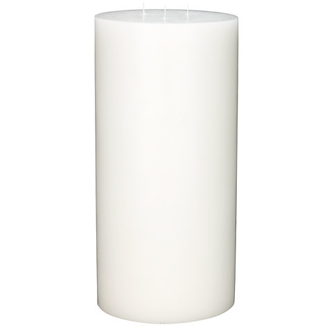 Buy Citronella Pillar Candle, Natural, H30.5cm Online at johnlewis.com