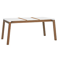 Buy Kettler Magnus Rectangular 6 Seater Outdoor Dining Table, Teak Online at johnlewis.com