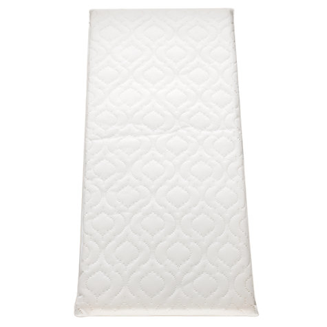Buy John Lewis Baby Basic Foam Pram/Crib Mattress, L89 x W38cm Online at johnlewis.com