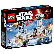 Buy LEGO Star Wars 75138 Hoth Attack Online at johnlewis.com