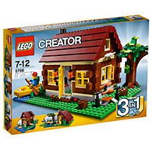 Buy LEGO Creator 3 in 1 Log Cabin Building Kit Online at johnlewis.com
