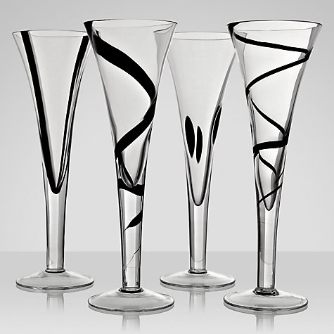 Buy LSA International Jazz Flutes, Set of 4 Online at johnlewis.com