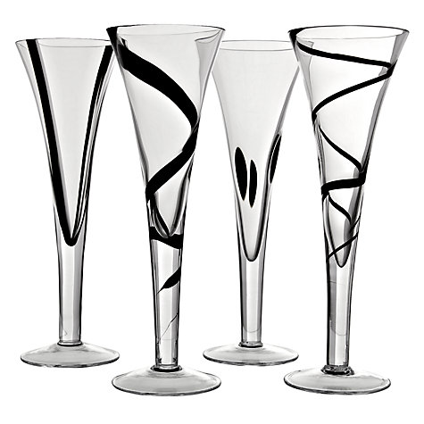 Buy LSA Jazz Flutes, Set of 4 Online at johnlewis.com