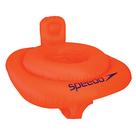 Buy Speedo Swim Seat, 0–12 months, Orange Online at johnlewis.com