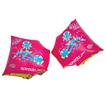 Buy Speedo Sea Squad Armband, Pink Online at johnlewis.com