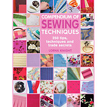 Buy Compendium of Sewing Techniques Online at johnlewis.com