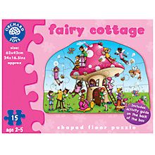 Buy Orchard Toys Fairy Cottage Floor Puzzle, 15 Pieces Online at johnlewis.com