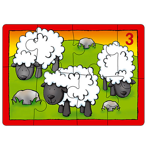 Buy Orchard Toys Four in a Box Farm Puzzles, 12 Pieces Online at johnlewis.com