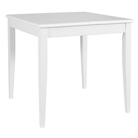 Buy John Lewis Lacock 4-6 Seater Rectangular Extending Dining Table, White Online at johnlewis.com