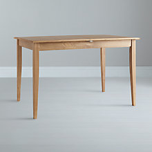 Buy John Lewis Lacock 4-6 Seater Rectangular Extending Dining Table, Oak Online at johnlewis.com