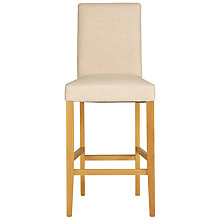 Buy John Lewis Miso Upholstered Bar Chair, Natural Online at johnlewis.com