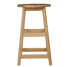Buy John Lewis Mission Bar Stool, Natural Online at johnlewis.com