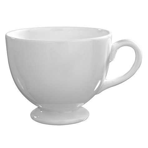 Buy Wedgwood White China Teacup Online at johnlewis.com