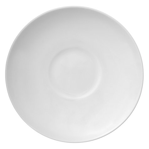 Buy Wedgwood White China Tea Saucer Online at johnlewis.com