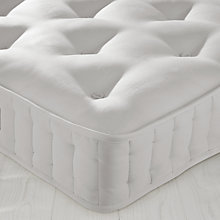Buy little home at John Lewis Children's Natural Pocket Mattress, Single Online at johnlewis.com
