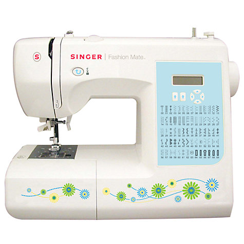 Buy Singer Fashion Mate 7256 Sewing Machine Online at johnlewis.com