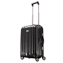 Buy Samsonite Cubelite Spinner 4-Wheel Cabin Suitcase, Graphite Online at johnlewis.com