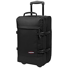 Buy Eastpak Tranverz 2-Wheel Small Suitcase, Black Online at johnlewis.com