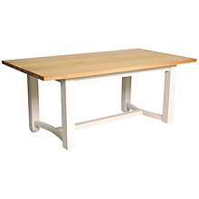 Buy Neptune Chichester 6 Seater Rectangular Table, Limestone Online at johnlewis.com