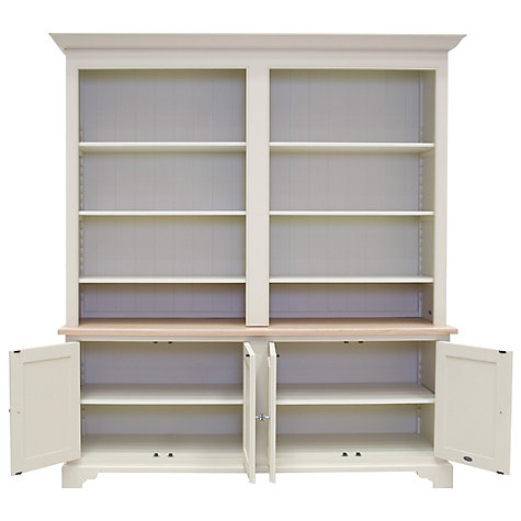 Buy Neptune Chichester 6ft Grand Bookcase Base, Limestone Online at johnlewis.com
