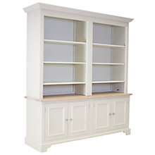 Buy Neptune Chichester 6ft Grand Bookcase Top, Limestone Online at johnlewis.com