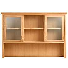 Buy John Lewis Avenue Wide Sideboard Dresser Top Online at johnlewis.com
