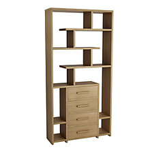 Buy John Lewis Henry 4 Drawer Bookcase Online at johnlewis.com