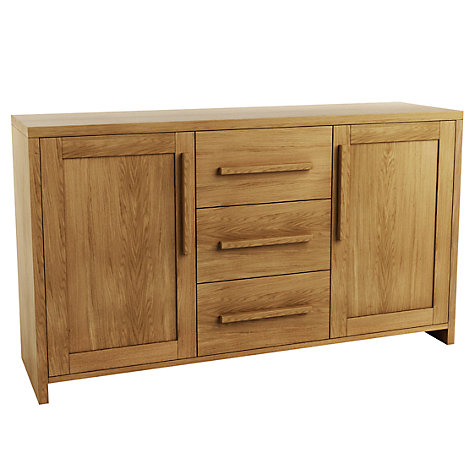 Buy John Lewis Henry 2 Door 3 Drawer Sideboard Online at johnlewis.com