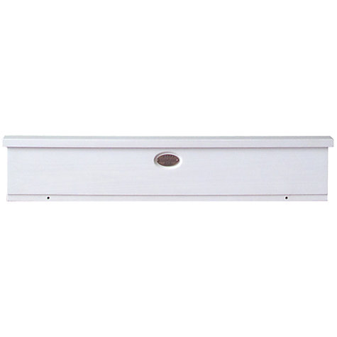 Buy Boori Newport Pelmet, Soft White Online at johnlewis.com