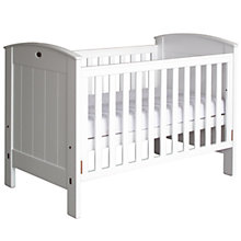 Buy Boori Classic Ranch Cotbed, White Online at johnlewis.com
