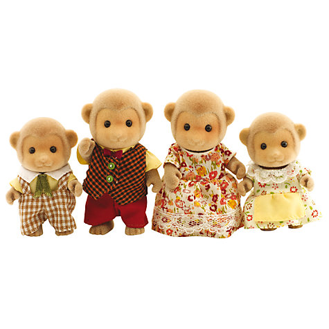 Buy Sylvanian Families Darwin Monkey Family Online at johnlewis.com