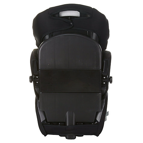 Buy John Lewis Adjustable Highback Booster Seat, Black/Lime Online at johnlewis.com