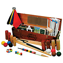 Buy Jaques Great Exhibition Deluxe Croquet Set Online at johnlewis.com