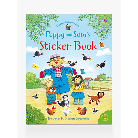 Buy Usborne Farmyard Tales Sticker Book Online at johnlewis.com