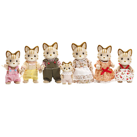 Buy Sylvanian Families Celebration Macavity Cat Family Online at johnlewis.com