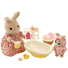 Buy Sylvanian Families Bath Time For Baby Online at johnlewis.com