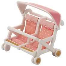 Buy Sylvanian Families Double Pushchair Online at johnlewis.com