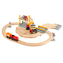 Buy Brio Rail and Road Set Online at johnlewis.com