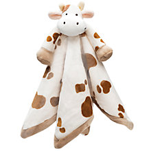 Buy Teddykompaniet Cow Baby Comforter Online at johnlewis.com