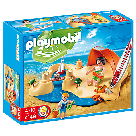 Buy Playmobil Beach Holiday Compact Set Online at johnlewis.com