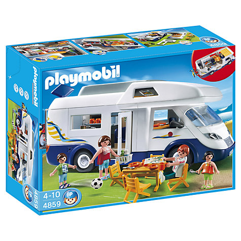 Buy Playmobil Family Camper Online at johnlewis.com